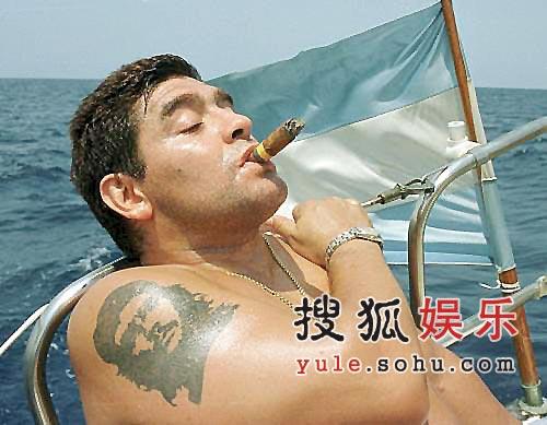 《翻阅日历》2007年2月--今日雪茄客马拉多纳
