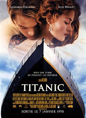 图:第70届奥斯卡最佳影片—《泰坦尼克号》