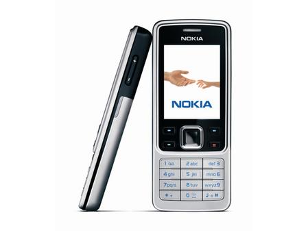 图为诺基亚6300手机