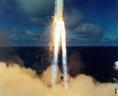 """快讯:""""海上发射""""公司一枚火箭发射时爆炸"""