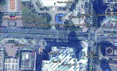 网友质疑GoogleEarth使用伪满洲国地图(组图)