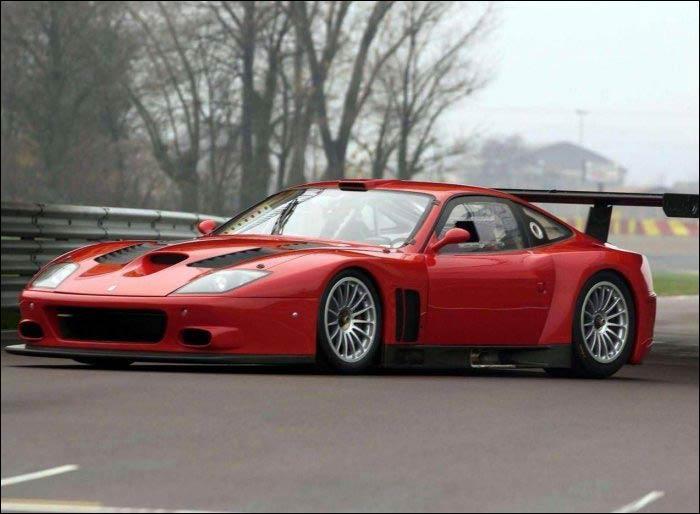 法拉利新款跑车575GTC