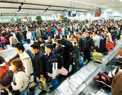 1月30日广铁送旅客34.2万 今明火车票基本售完