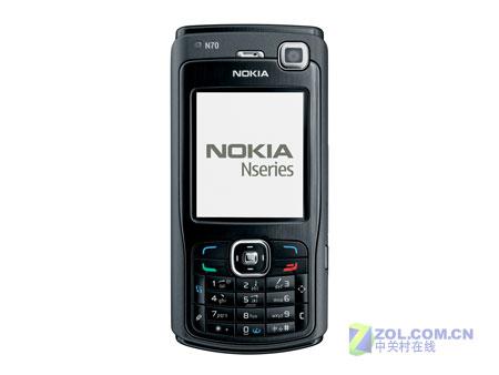 黑色智能魅力 诺基亚N70网络版仅2690