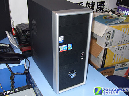 用千元XFX 76GT 装5000元最强游戏PC
