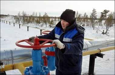 普京称俄天然气价格将上涨 谈发展核能计划(图)