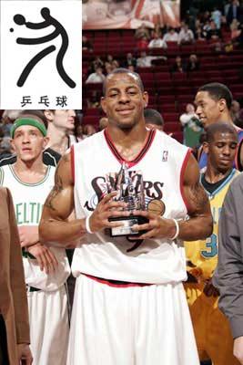 NBA球星十大副项:乔丹打棒球 姚明曾是水球门将