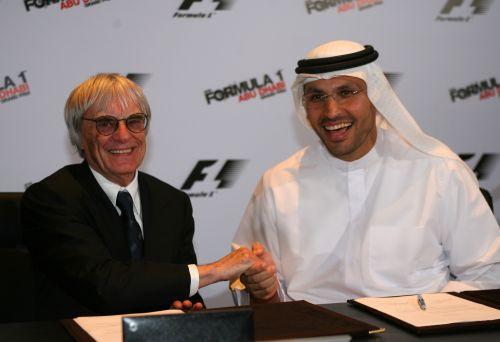图文:阿联酋将在09年举办F1 双方达成合作协议
