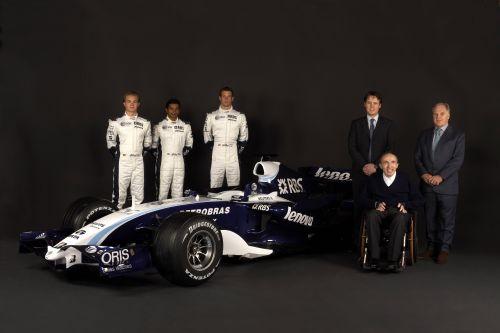 威廉姆斯发布新车FW29 联想加盟成为主力赞助商
