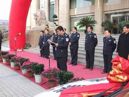 众泰2008再度进入陕西省警务用车系统