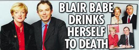 """英国女议员酗酒而死 曾披露""""权色交易""""(图)"""