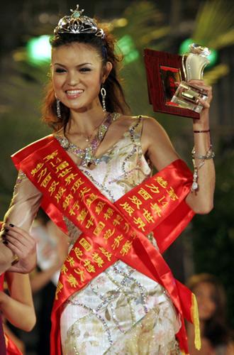 模特大赛中国赛区冠军李媛丽