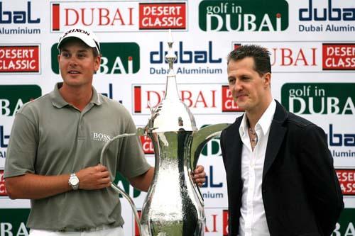 2007迪拜沙漠精英赛 冠军斯滕森尽情享受高尔夫