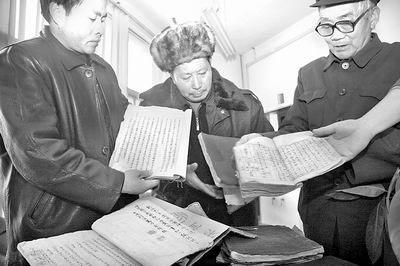 万余成吉思汗直系后裔现河南 巨幅家谱为证(图)