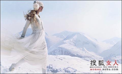时尚:唯美衣装 惊艳冰雪仙境