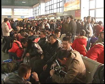 2007年春运第一天:北京西客站应对春运