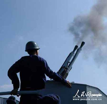 黄金舰艇:中国海军新型扫雷舰