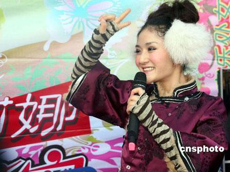 谢娜:还是喜欢刘烨那样的不太爱说话的人(图)