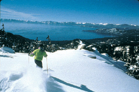 《冰雪运动》带你去美国滑雪天堂