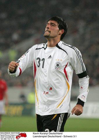 图文:德国3-1瑞士 库兰伊豪情万丈