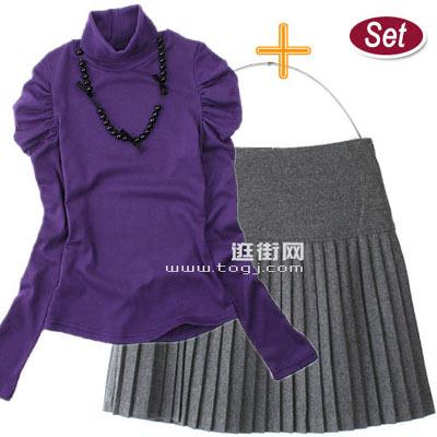 亮衫+半裙搭配新法则