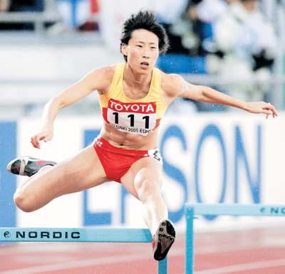2007年国家田径队名单公布 山东省八虎将榜上