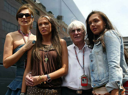 揭秘F1掌门人伯尼家庭内幕 女儿:爸爸不是怪物