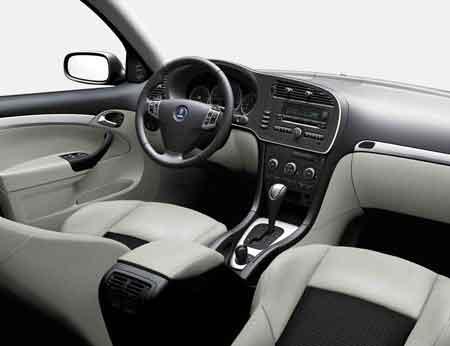 萨博内饰新主张 07款Saab 9-3感观升级