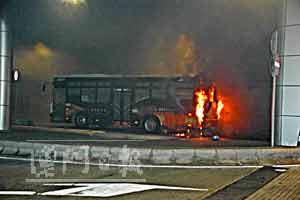 澳门一巴士地下广场爆炸 300乘客仓惶逃生(图)