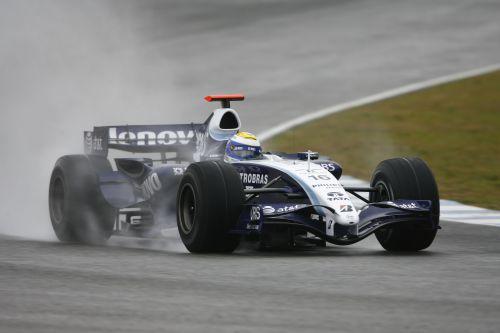 图文:赫雷斯赛道试车第三日 罗斯伯格进行测试