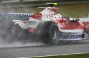 图文:赫雷斯赛道试车第三日 特鲁利测试雨胎