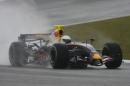 图文:赫雷斯赛道试车第三日 韦伯进行测试