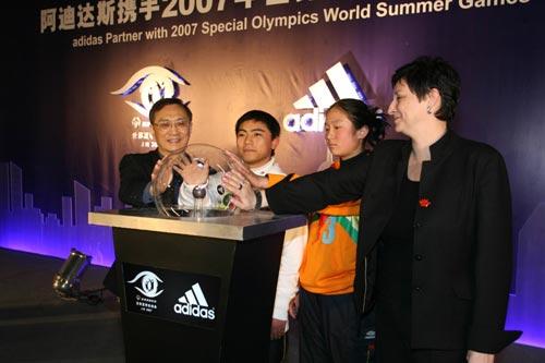 点亮梦想实现自我 阿迪达斯牵手2007上海特奥会