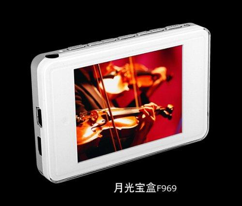 2.4寸QVGA惊世之作 爱国者最新MP3 F969上市