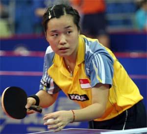 乒联印度公开赛 新加坡选手包揽冠军实现突破