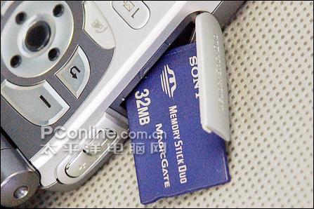 索尼爱立信Z1010+存储卡接口