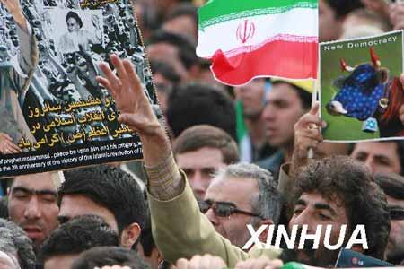 伊朗民众庆祝拥有核权利 内贾德未提具体核动向