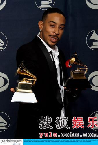 图:Ludacris获最佳说唱歌曲和最佳Rap专辑