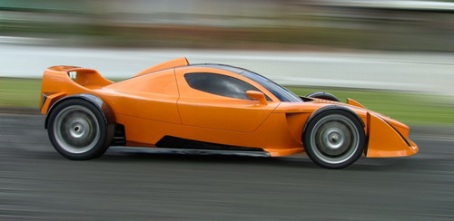 为了失去的纪念--Hulme F1超级跑车