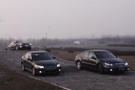 少数派报告--三款全时四驱轿车对比(图)
