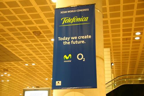 图文:西班牙电信运营商广告