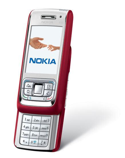 诺基亚发布多款智能3G手机 E61i叫板黑莓(图)