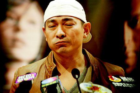 刘德华最满意《门徒》 称以前在演技上很自卑!