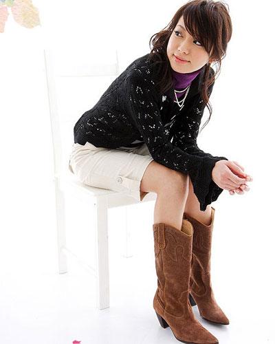 靴子新法 做时髦美女