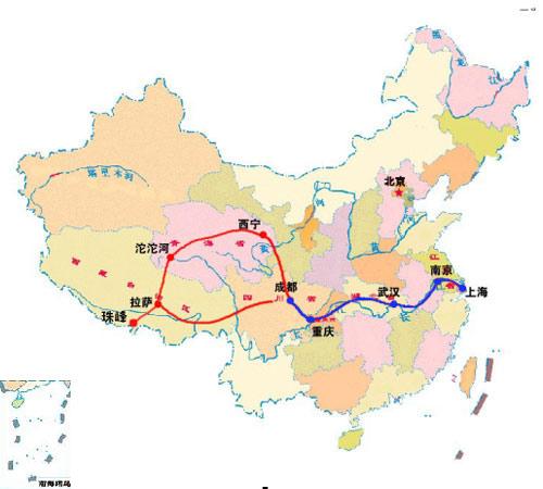 助威珠峰火炬手07巅峰行动 助威团行程及线路图