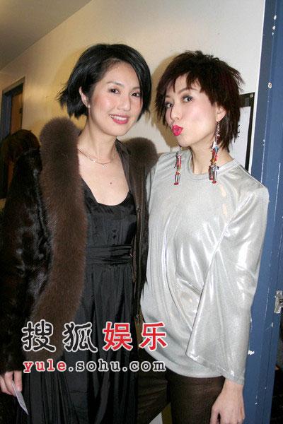 郑秀文杨千嬅首度同出镜 加拿大演出噘嘴搞怪