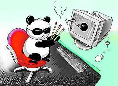 """""""熊猫烧香""""烧出法理漏洞"""
