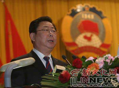 祝业精当选长春市政协主席(图)