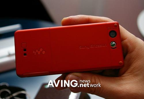 3GSM 索爱推送超薄3G音乐手机Walkman W880