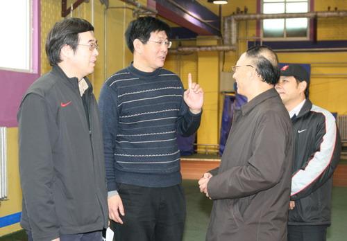 国家队副总教练阚福林:田径冬训任务十分艰巨